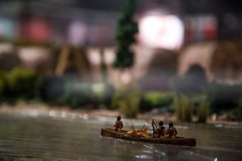 représentations des amérindiens à la pêche