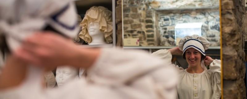 essai de costume au musée de la place royale