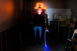 Tulle lightpainting / © Du Monde au Tournant