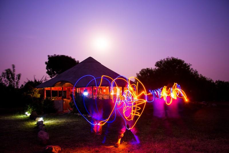 love hear lightpainting / © Du Monde au Tournant