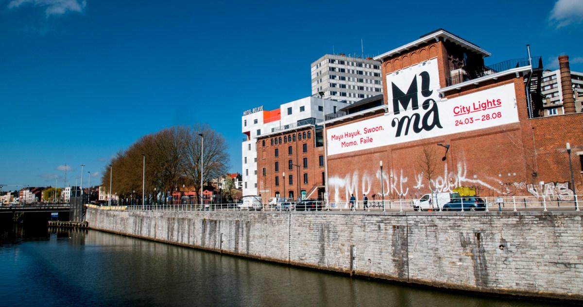 Le Mima, entre tour et taxi et la gare du midi, le lon du canal de la Senne
