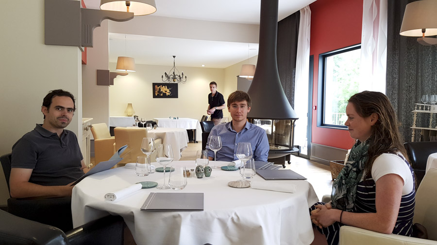 Restaurant Louis à Burlats © Michel Dvorak / www.au-tournant.org