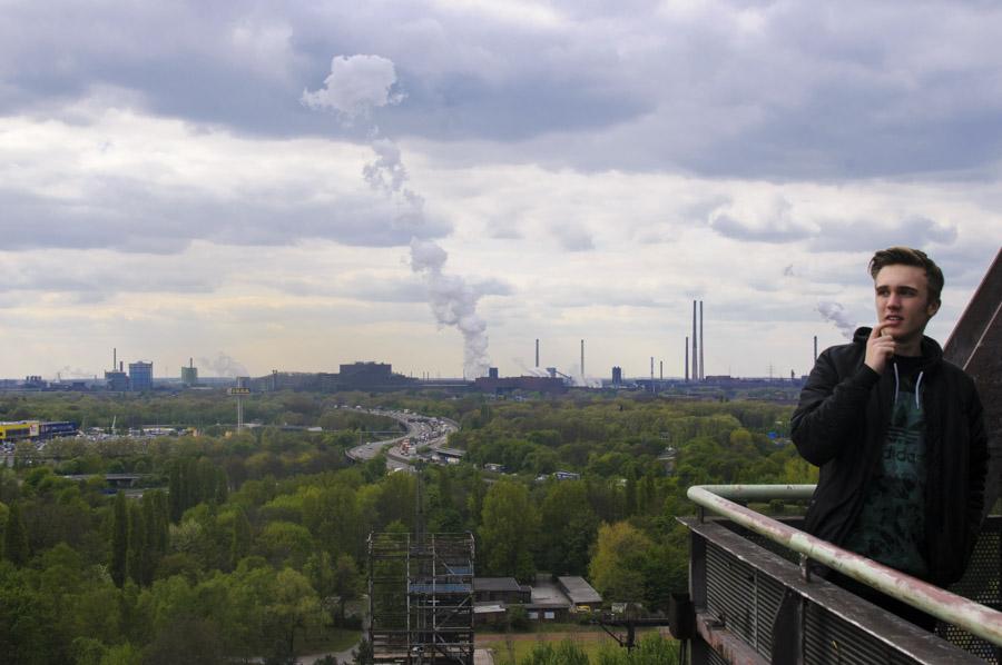 Duisbourg - vue depuis le Landschaftspark