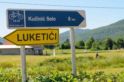 Ogulin - Des parcours pour les cyclistes