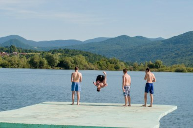 Le lac d'Ogulin