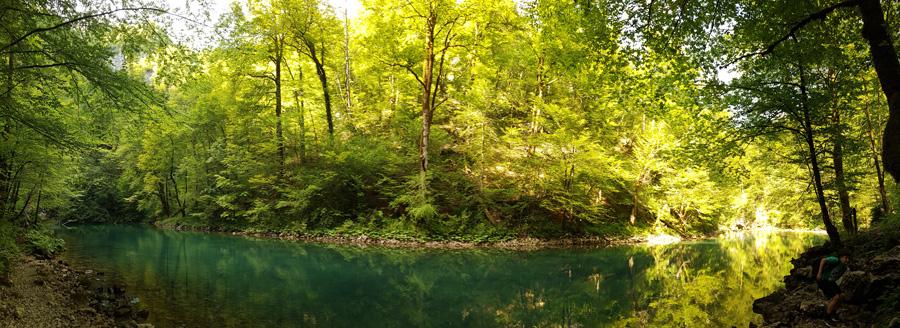 lac Lokvarsko - Parc national de Risnjak en Croatie