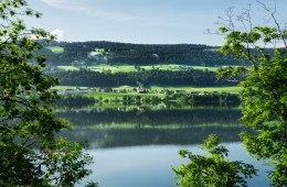 Lac de Joux, Canton de Vaud, Suisse.