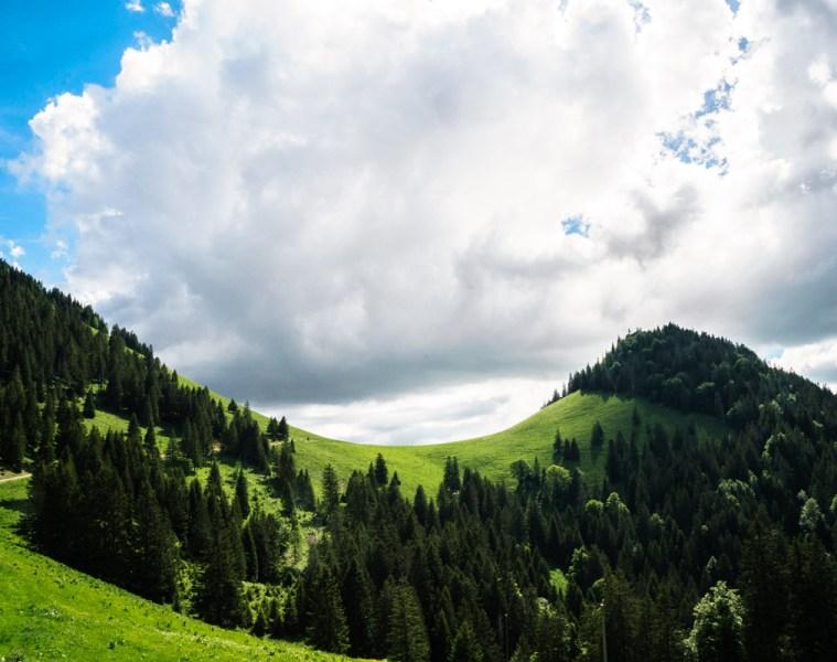 La randonnée du Chasseron, canton de Vaud, Suisse