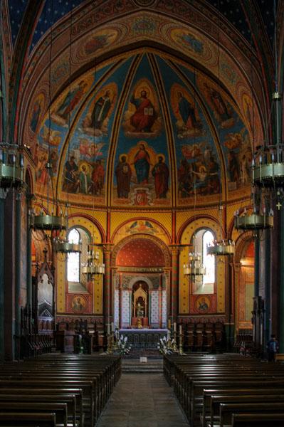 Cathédrale Saint-Caprais d'Agen - intérieur. Photo : Michel Dvorak