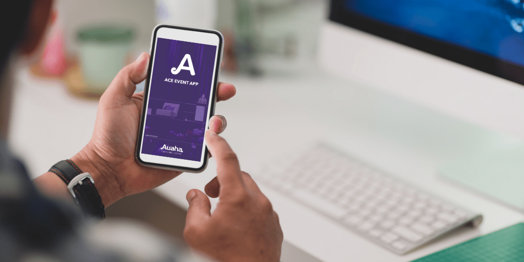 The ACE Event App makes your conference socially safe & sustainable. It grows with you, making social interaction & social distancing more engaging.