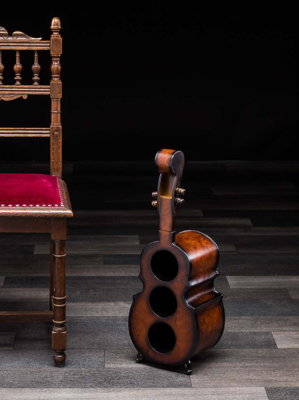 Weinregal 60cm Geige Violine Viola Flaschenregal ...