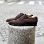 The Edward Oxford in brown suede