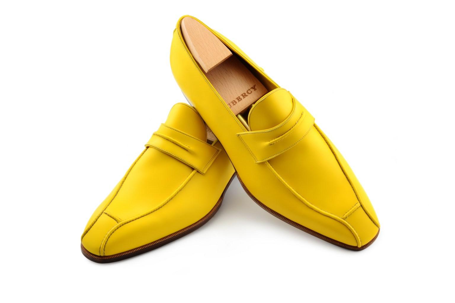 Le mocassin loafer Janus en cuir champagne