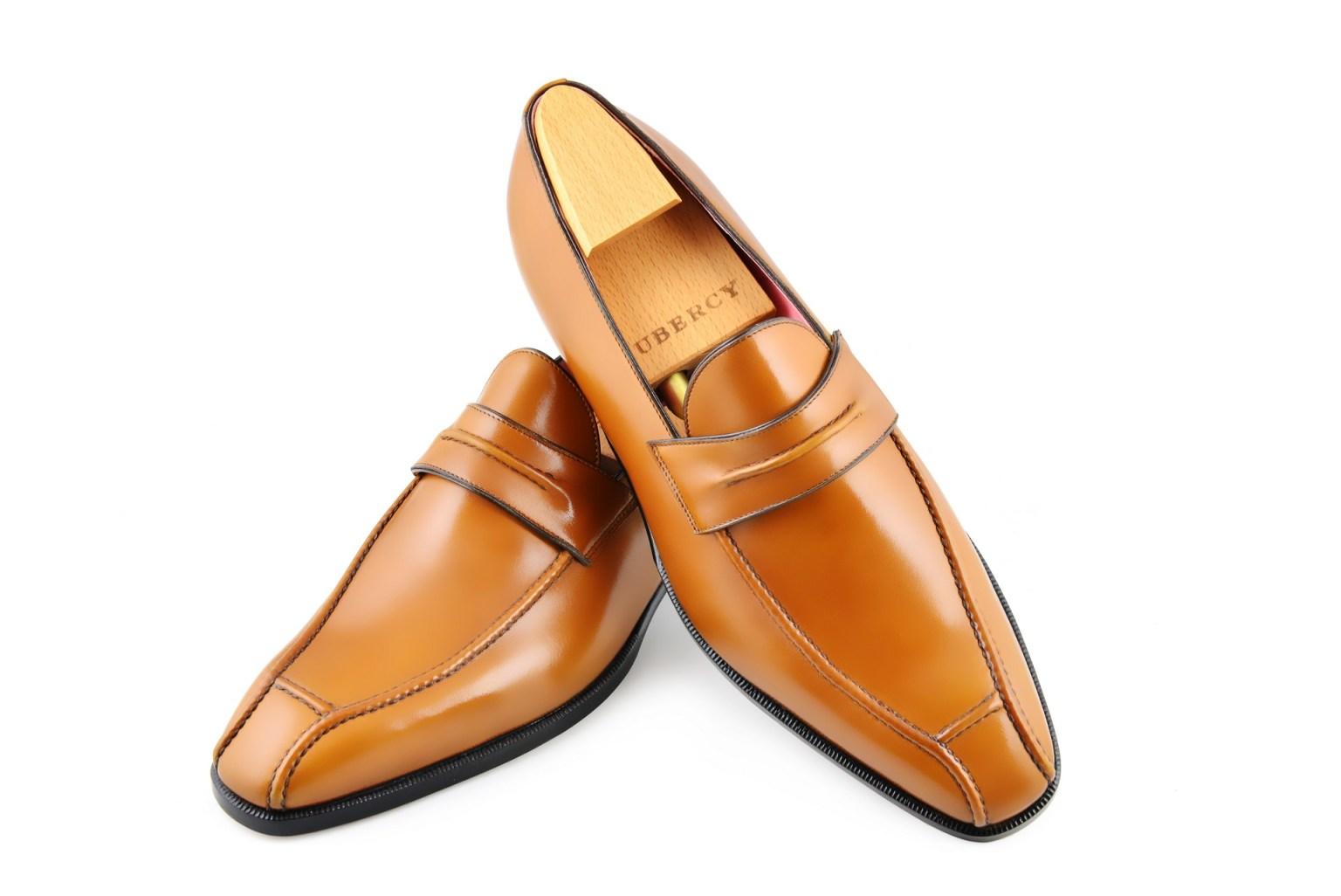 Le mocassin loafer Janus en cuir fauve