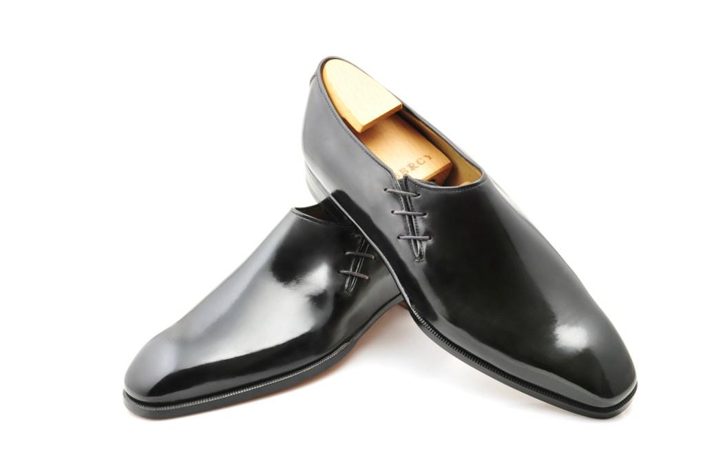 Le richelieu oxford Perry en cuir noir