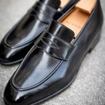 The Barry loafer in black