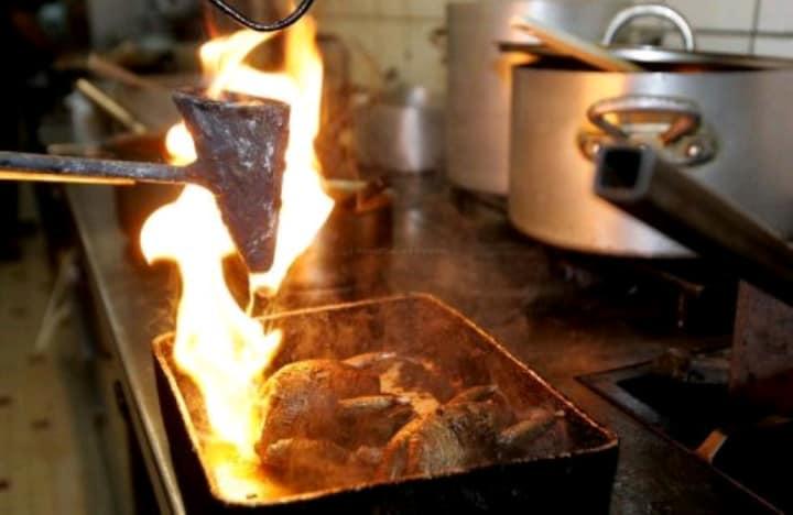 cuisson de palombes au capucin