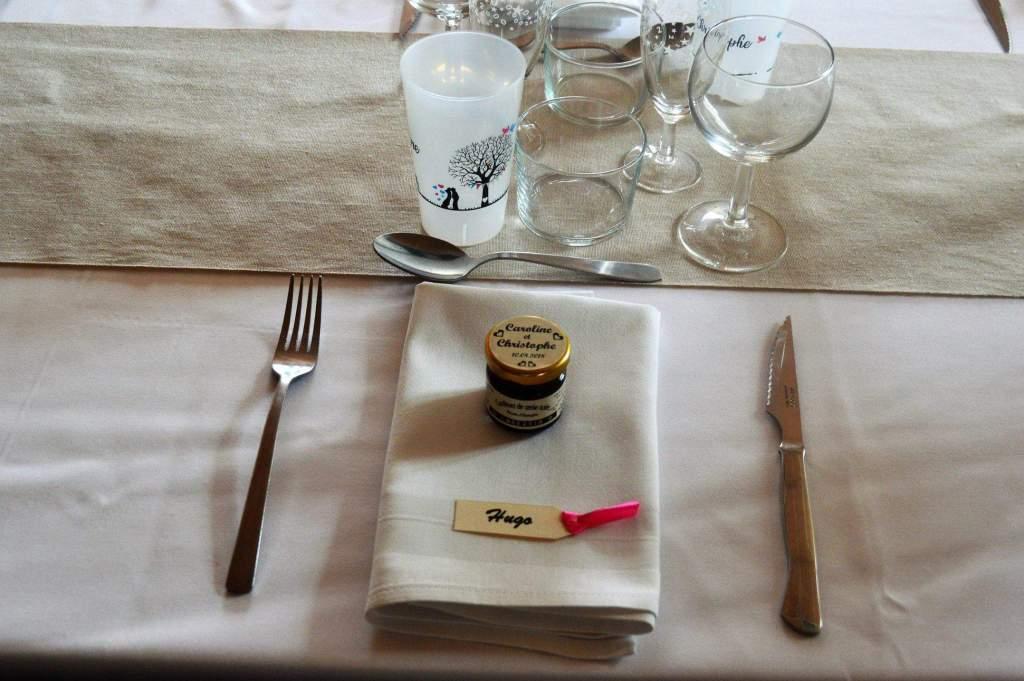 repas de groupes décoration de table