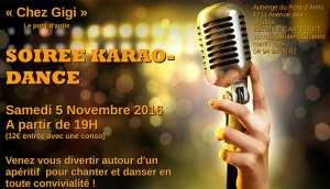 Soirée Karaoke du 5 novembre 2016