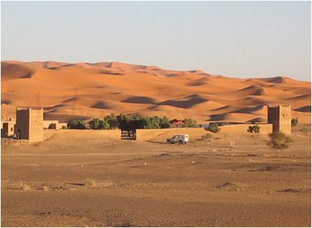Dunas de Merzouga Marrocos Marruecos