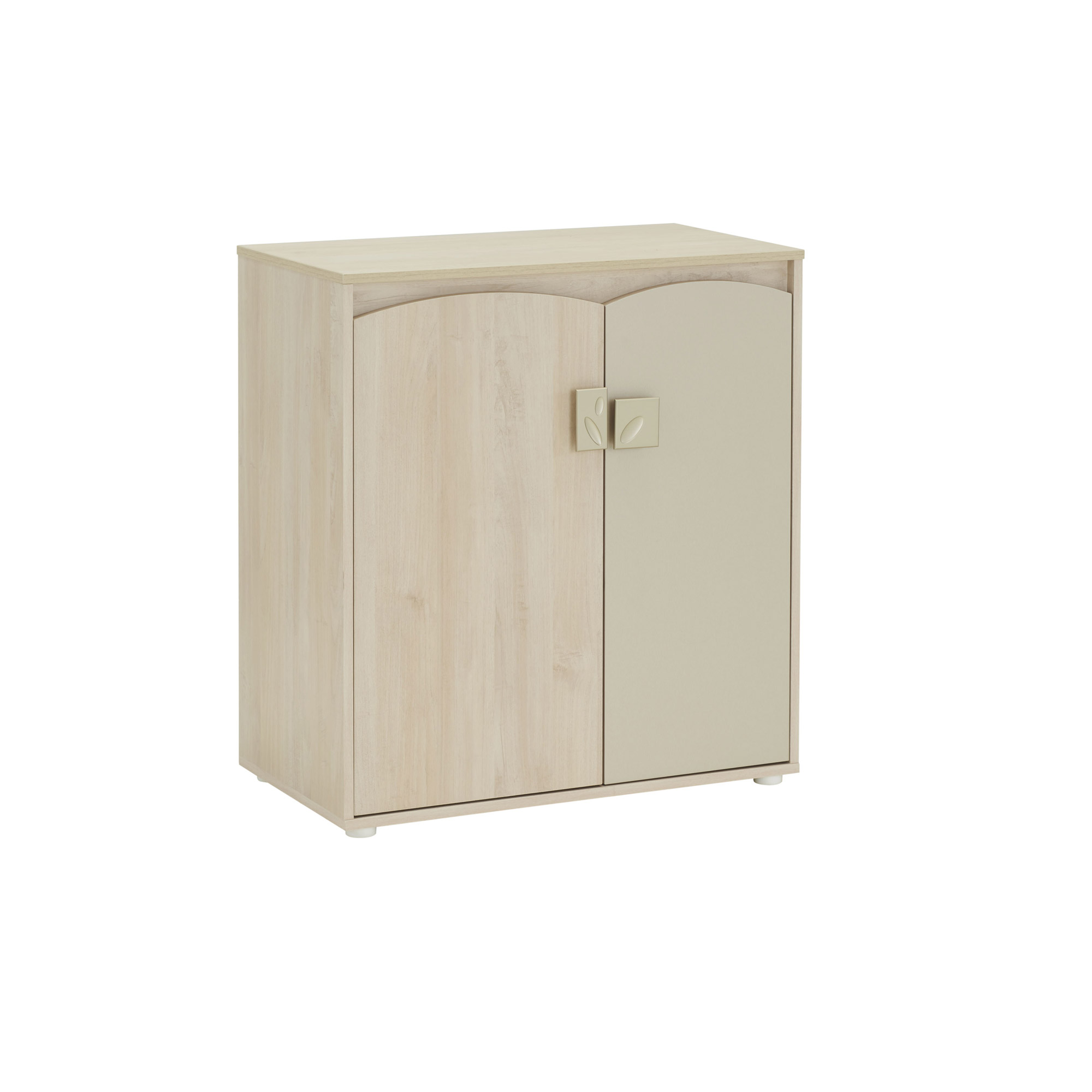 melodie commode 2 portes bois