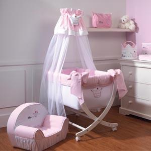 princesse tour de lit rose de nougatine