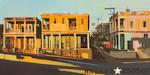 Buena Vista - Acrylique sur toilede la Habana par Michelle Auboiron