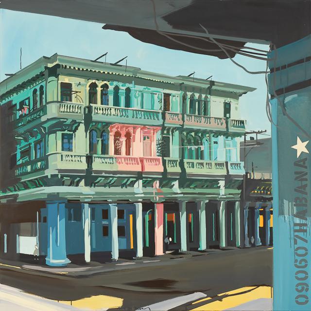 Peinture de la Habana par Michelle AUBOIRON