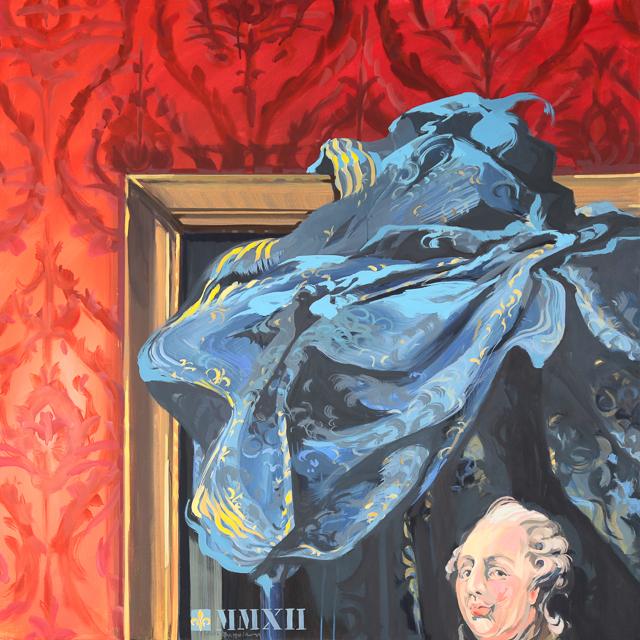 Ma Tète à Couper - Détournement des tableaux officiels du Château de Versailles par Michelle Auboiron