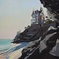 Peinture de Dinard par Michelle Auboiron - Port Salut