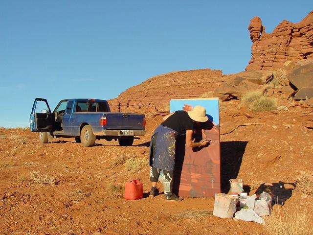 Hurrah Pass Road - Canyonlands - Moab - Utah - Photo : Charles GUY - 2001