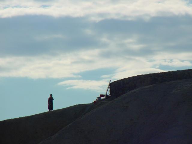 Zabriskie Point - California - Photo : Charles GUY - 2001