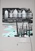 Peinture de Dinard par Michelle Auboiron - Acrylique sur carton 100 x 70 cm
