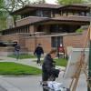 Robie-House-Frank-Loyd-Wright-Painting-Michelle-Auboiron-9 thumbnail