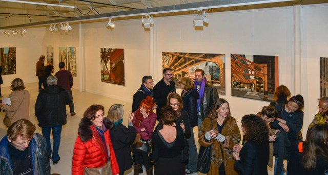 Vernissage - Espace Commines - Paris - 2015 - Photo Emmanuel Aguirre