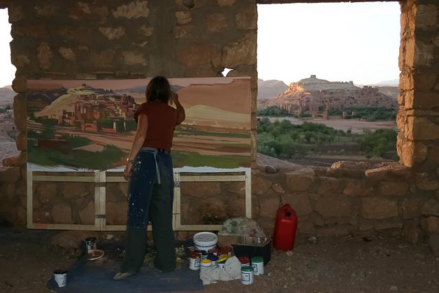 michelle-auboiron-peintre-en-action-sud-marocain--16