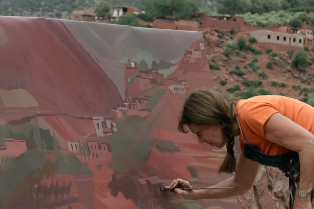 michelle-auboiron-peintre-en-action-sud-marocain--2