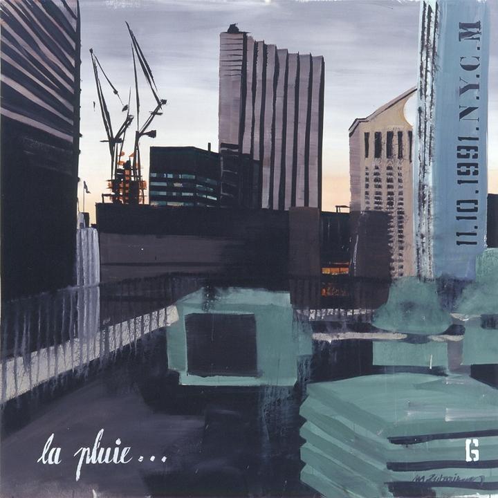 Parker Meridien 06 - Peinture de New York par Michelle AUBOIRON