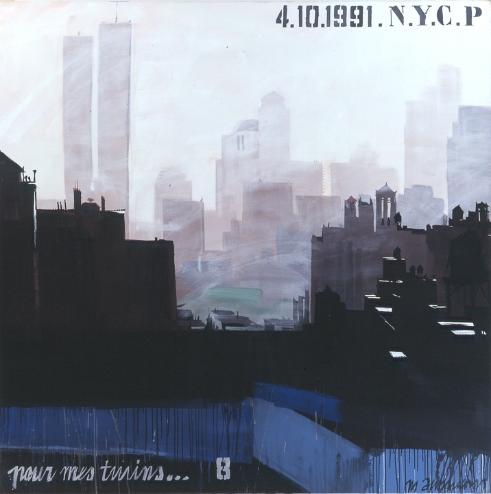 Parson School of Design 08 - Peinture de New York par Michelle AUBOIRON