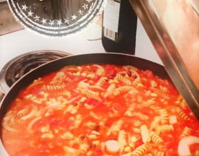 Pâtes dans un seul chaudron style chili - Auboutdelalangue.com