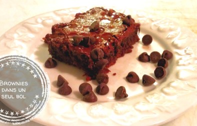 Brownies dans un seul bol - Auboutdelalangue.com