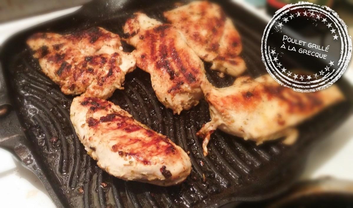 Poulet grillé à la grecque