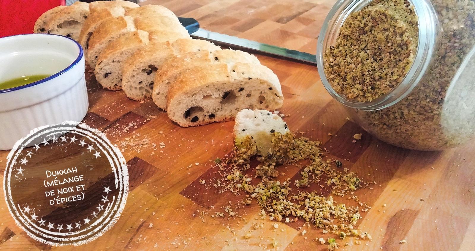 Dukkah (mélange de noix et d'épice) - Auboutdelalangue.com