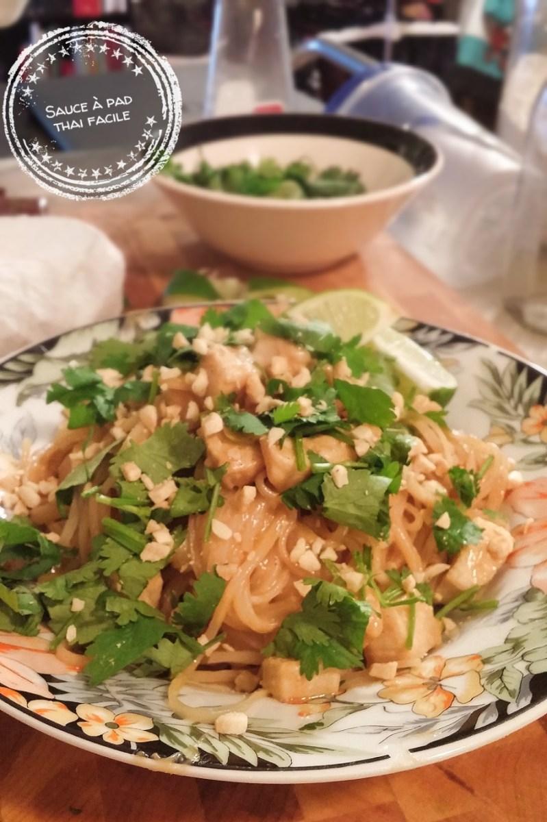 Sauce à pad thai facile