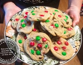 Biscuits aux brisures de chocolat dans un seul bol - Auboutdelalangue.com