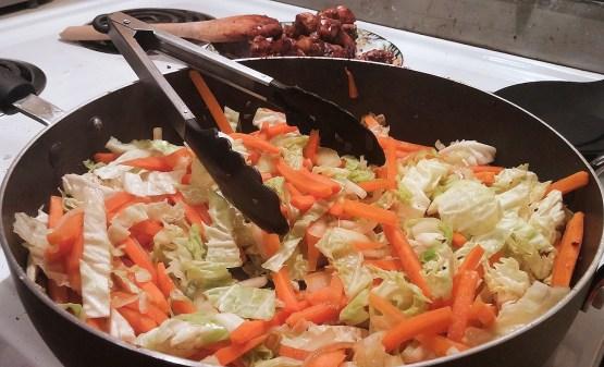 Chow mein au poulet dans un seul chaudron - Auboutdelalangue.com (6)