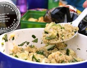 Salade de quinoa, concombre et feta - Auboutdelalangue.com