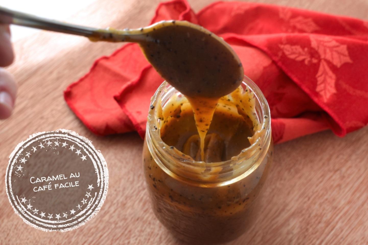 Caramel au café facile - Auboutdelalangue.com