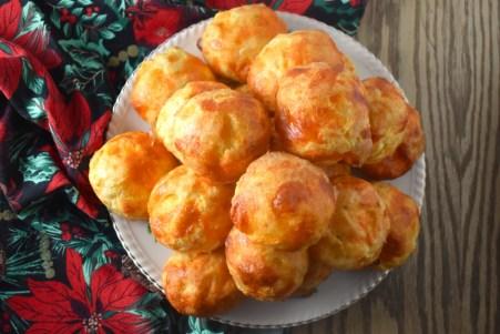 Gougères (petits choux au fromage) - Auboutdelalangue.com (10)