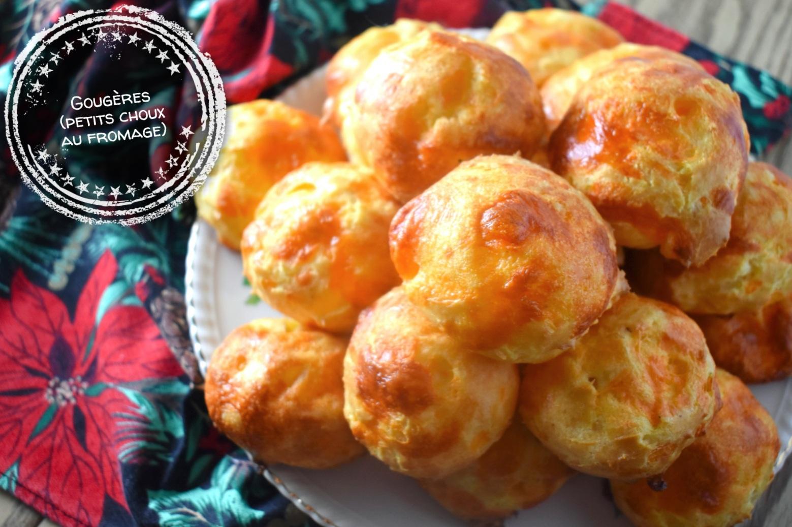 Gougères (petits choux au fromage) - Auboutdelalangue.com